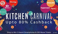 Paytm Mega Kitchen Carnival Sale offer : Paytm July Kitchen Carnival Sale