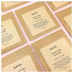 This month's BPure Box featured brand is @kayasoaps  If you are a subscriber your box will include one of these luxurious Cacao Clay Facial Masks.  #bpurebox