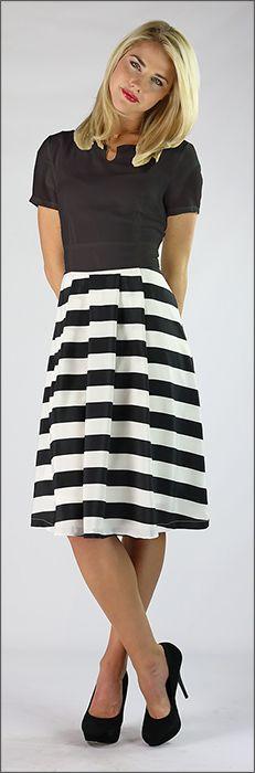Kara Dress - BACK ORDER TILL 11/15/13 [MDF2629] - $54.99 : Mikarose Fashion, Reinventing Modest Fashion