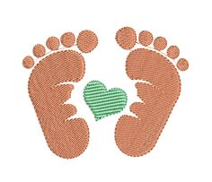 babyFeet Best Picture For embroidery inspiration For Your Taste You are looking for something, and it is going to tell you exactly what you are looking for, and you didn't find that picture. Creative Embroidery, Applique Embroidery Designs, Panda Bebe, Embroidery Bracelets, Sewing Rooms, Baby Feet, Free Baby Stuff, Unicorn Face, Free Design