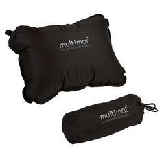 Multimat Superlite Pillow, Black << regular Price $20.00 Havilandoutdoorsupplies.com price $15.00» Sleeping Bags, Cots, Mats,Hammocks » Haviland Outdoor Supplies