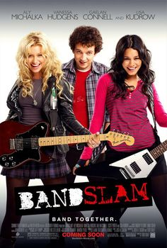 Bandslam (4 stars) I typically enjoy battle of the bands type movies, and this is no exception. I also enjoy seeing Disney Channel stars going on with their careers and not wrecking their lives in the process. Aly Michalka and Vanessa Hudgens seem to have their heads on right. The movie has great music and is funny and touching. The characters grow, the moral is intelligent, and the story grabs you.