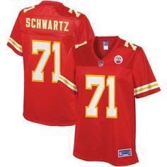 Mitchell Schwartz Kansas City Chiefs NFL Pro Line Women's Player Jersey - Red - $99.99