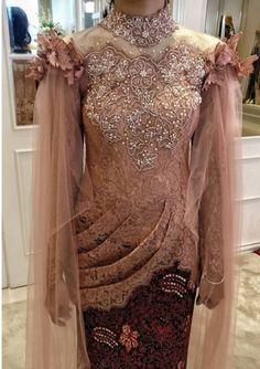 Kebaya Pink, Kebaya Lace, Kebaya Hijab, Batik Kebaya, Kebaya Dress, Kebaya Muslim, Muslimah Wedding Dress, Hijab Wedding Dresses, Dress Brokat Modern