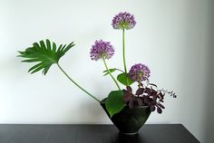 Ikebana 'Popping up'