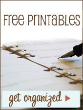 Fantastic- printables for everything!