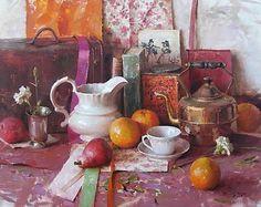 Daniel Keys--Tea Still Life