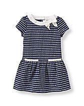 Heart Jacquard Dress | www.janieandjack.com