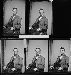 Photograph of President Abraham Lincoln by The U.S. National Archives, via Flickr
