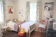 Drew and Henry's Playfully Timeless Boys' Room
