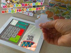 Storest er barnets første digitale kasseapparat. Barnet kan scanne varer, og betale og få byttepenge retur. Den kan både fungere digitalt eller fysisk.