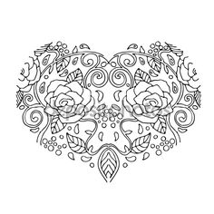 depositphotos_107116680-stock-illustration-decorative-love-heart-with-flowers.jpg (1024×1024)