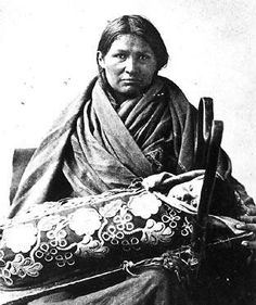 Ojibwa mother and child - no date