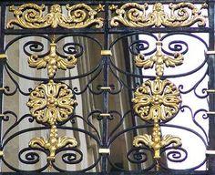 Hotel de Lauzun, Paris, balcony detail