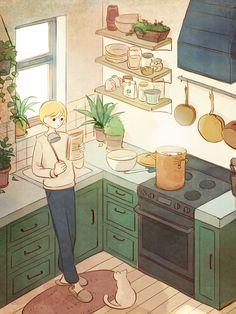 24번째 이미지 Pretty Art, Cute Art, Chihiro Y Haku, Character Art, Character Design, Posca Art, Cute Illustration, Aesthetic Art, Cartoon Art