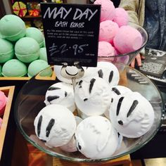 May Day bath bomb by Lush