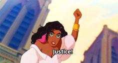 Justice ! Révolte, Esmeralda