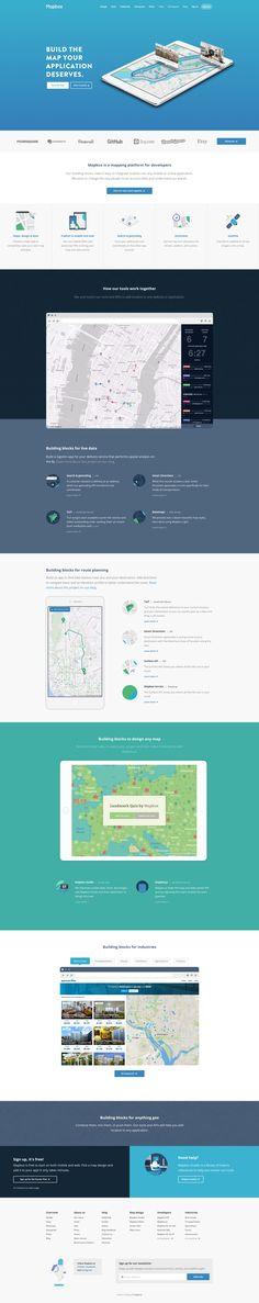 Homepage redesign by Tatiana Van Campenhout