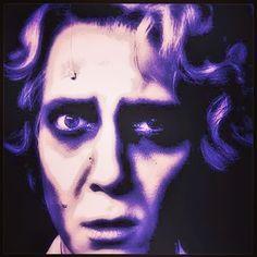 #neon #SweeneyTodd. Wait, no, but #Alfred grim from #danceofvampires #vampyyrientanssi   #musical. Photo from #PetrusKähkönen #omakuva #selfportrait