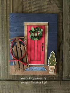 Ways Christmas Cards Handmade Stampin Up Winter Scenes 18 - sitihome Christmas Cards 2018, Christmas Paper Crafts, Homemade Christmas Cards, Stampin Up Christmas, Noel Christmas, Xmas Cards, Christmas Projects, Christmas Themes, Homemade Cards