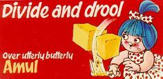 Amul girl | Old Ads