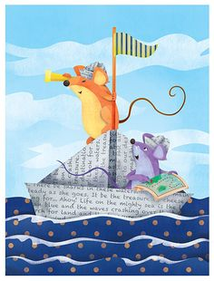 Mice at Sea by Robin Boyer