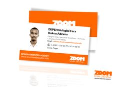 New work - Business card on Behance