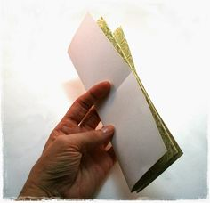 Paperesse: Quick, easy, one piece of paper folded mini-album, book or journal tutorial Book Making, Card Making, Album Book, Altered Books, Bookbinding, Scrapbooks, Mini Albums, Special Events, Paper Crafts