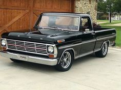 Pickup Car, Hot Rod Pickup, Ford Pickup Trucks, Chevrolet Trucks, 1957 Chevrolet, Chevrolet Impala, Custom Ford Trucks, Classic Ford Trucks, F100 Truck