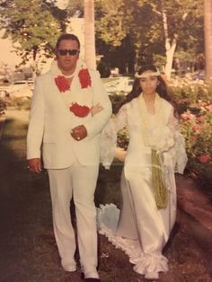 My nana's wedding back in the 70's!