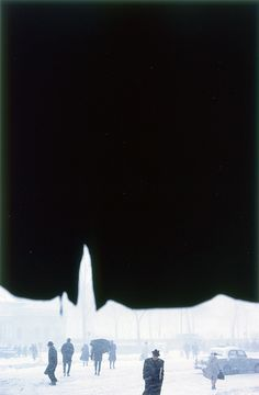 Сол Лейтер (Saul Leiter): Ранний цвет — Блог — Хорошие фотографии — sharpness