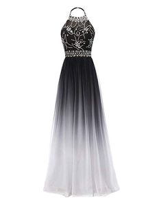 Apr 2020 - Party Dresses black sparkly dress office party dress going out dresses – dearmshe Ombre Prom Dresses, Junior Prom Dresses, Pretty Prom Dresses, Beaded Prom Dress, Black Prom Dresses, Ball Dresses, Beautiful Dresses, Ball Gowns, Sparkly Dresses
