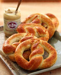 homemade pretzels #recipe