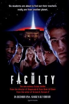 One of the old-school B-rated horror movies, but still super action story about alien parasites trying to possess every high school student.