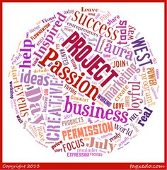 "What's your Passion Project?  You know that thing that ""if you were really brave"" you would do?  Your heart's dream put into form.  THAT'S what we'll focus on in the Courageous Creativity in Biz Mastermind....You & Your Passion Project!  www.JoyfulBusiness.com"