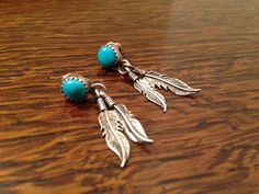 SOLD...Native Americanstyle sterling silver & by burlapvintagekc on Etsy