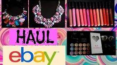 Haul Ebay, Accesorios, Collares, Lipgloss Matte Menow Generation 2