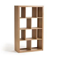 La bibliothèque Varia peut s'installer horizontalement ou verticalement, pour ranger livres et objets décoratifs.Caractéristiques :- En peuplier massif naturel ou laqué blanc vernis nitrocellulosique.Dimensions :- L170 x H100 x P44 cm.- Utiles de chaque niche (de haut en bas) : L24,7 x H41,7 x P40,2 cm ; L43 x H41,7 x P4,2 cm ; L47,1 x H38,5 x P40,2 cm ; L24,7 x H38,5 x P40,2 cm ; L43 x H38,5 x P40,2 cm et L47,1 x H41,7 x P40,2 cmDimensions et poids du colis :- L182 x H45 x P106 cm, 79,5...
