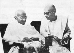 Two Freedom Fighters: M. K. Gandhi and C. Rajagopalachari