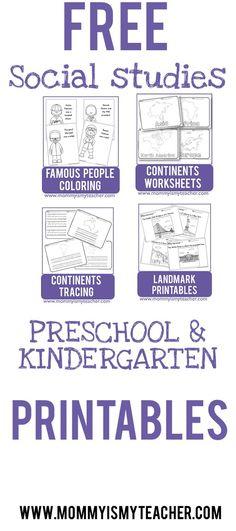 Wow, I just printed 10 free preschool printables for my homeschool preschool. Saving this website for more free printables!