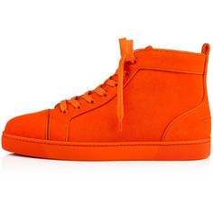 01b960f1825d Louis Orlato Flat Magma Suede - Men Shoes - Christian Louboutin ( 895) ❤  liked · Mens High Top ...