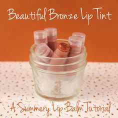 Beautiful Bronze Lip Tint Tutorial