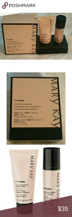 Mary Kay TimeWise Microdermabrasion Set New  Never used Ships fast  Fights fine lines, refine pores, and achieve beautifully smooth skin. Great for removing black heads Mary Kay Other