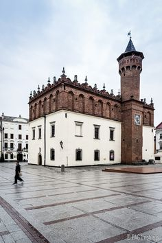 16th century Renaissance Town Hall in Tarnów, southern Poland