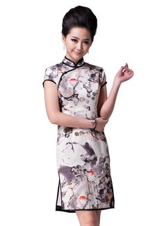 Dewdrop. fashion chinese cheongsam dress