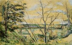 The Oise Valley - Paul Cezanne - The Athenaeum