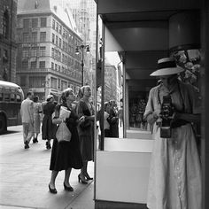 One of Vivian Maier's images #vivianmaier #bw #selfportrait