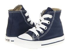 Converse Kids Chuck Taylor® All Star® Core Hi (Infant/Toddler) Black - Zappos.com Free Shipping BOTH Ways