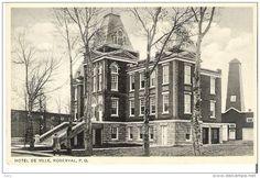 Hôtel de Ville de Roberval vers les années 1940-1950