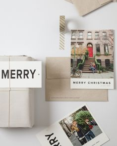 The 2014 Artifact Uprising Holiday Card Collection / 100% recycled cards